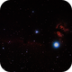 IC434 and NGC 2024, Flame Nebula and Horse Head, More Fun with Unmodified Canon SL1,                                johrich