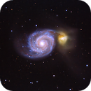 M51 Question Mark Galaxy,                                Thierry Holer