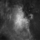 Eagle Nebula & Pillars of Creation in H-alpha,                                Orestis Pavlou