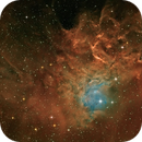 Flaming Star Nebula IC405 in Auriga,                                Arnaud Peel