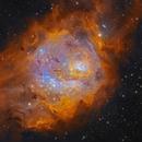 Lagoon Nebula,                                Brett du Preez
