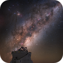 European Southern Observatory (ESO) Secondary Telescope at work!,                                Carlos 'Kiko' Fai...