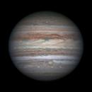 Jupiter with the Little Red Spot (Oval BA),                                  Niall MacNeill