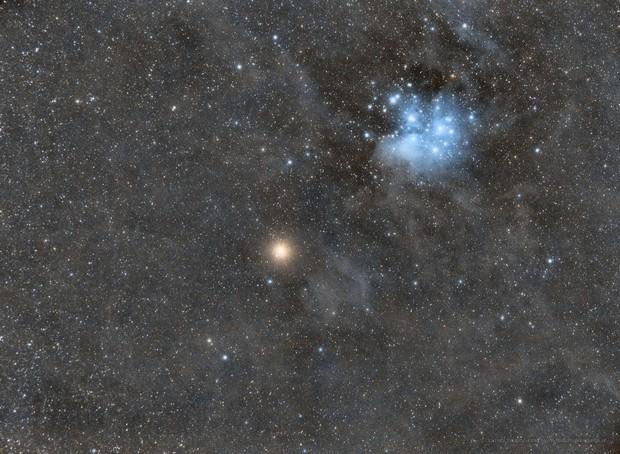 M45 & Mars,                                Mario Zauner