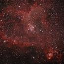 The Heart nebula,                                Jim Knapp