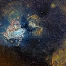 M17-nébuleuse de l'omega SHO,                                  astromat89