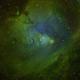 NGC 2264 Christmas Tree and Cone Nebula (SHO),                                v3ngence