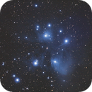 M45 Pleiades with Canon 550D,                                Will Czaja