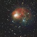 NGC1931, a LRGB, Ha image,                                Niels V. Christensen