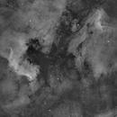 North Amerika & Pelican Nebula in Ha,                                equinoxx