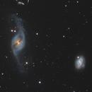 NGC 3718 & NGC 3729 in Ursa Major,                                Steve Milne