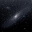 Andromeda galaxy,                                Nicolas Lacombe