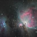 M42 Orion Nebula,                                mistateo