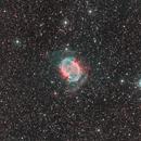 M27 The Dumbbell Nebula,                                Jim McPherson