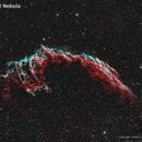 Eastern Veil Nebula in HOO,                                Yannick Juillet
