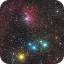Around IC 405 and 410,                                paddy36