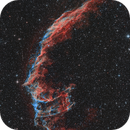 Eastern Veil Nebula with DSLR in HaOO,                                Michael S.