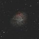 M1 Crab Nebula,                                Bruce Donzanti