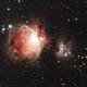 Orion and Running Man Nebulae,                                Pat Darmody