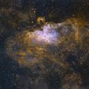 Eagle Nebula Wide Field,                                Will Czaja