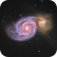 M51 The Whirlpool Galaxy,                                Eric Coles (coles44)