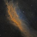NGC 1499 California Nebula SHO 2 panel mosaic,                                Barry Wilson