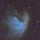 NGC 281 Pacman Neula,                                Bfred