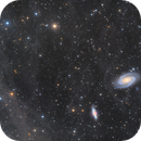 Galaxies M81 and M82 through a sea of IFN,                                Andrew Klinger
