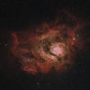 Lagoon Nebula,                                AstroDinsk