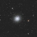 M13 - Great Globular Cluster in Hercules,                                Phil Brewer
