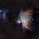 Great Orion Nebula and Running Man,                                José Santivañez M...