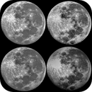 Moon in different light,                                Caspian Ray