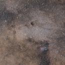 Sagittarius Star Cloud - Messier 24,                                tgigl