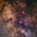 2nd row of my milky way gigapixel mosaic,                                Björn Hoffmann