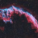 NGC 6992 The Eastern Veil Nebula,                                Tom Peter AKA Astrovetteman
