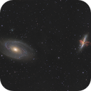 M 81 and M 82,                                pete_xl