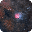 M20 - Trifid Nebula,                                Frank
