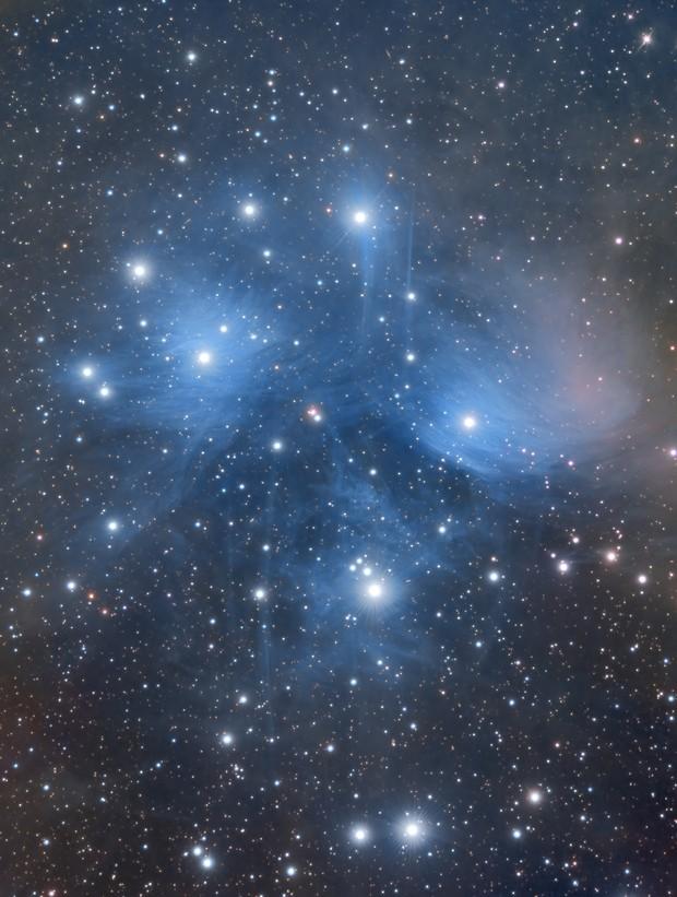 M45 Pleiades,                                Wissam Ayoub