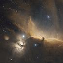 Horsehead Nebula in HST (2-panel mosaic),                                Samuli Vuorinen