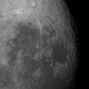 The western limb of the almost full moon (95% illuminated),                                Niall MacNeill