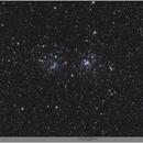 The Double Cluster in Perseus, QHY168C, 20200920,                                Geert Vandenbulcke