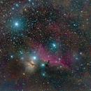 Orion dust clouds,                                Steffen Boelaars