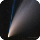 NEOWISE Comet on July 18th,                                Fluorine Zhu