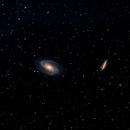 Messier 81, Bode's Galaxy,                                Nicholas Gialiris