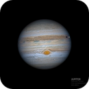 Jupiter - GRS - Europa in Excellent seeing,                                Anis Abdul