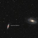 M81 M82 with super nova SN2014J,                                MarcoFavuzzi