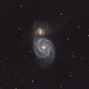 Messier 51,                                Chris Lasley
