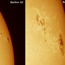 Sun and AR-2736,                                Samuel Müller