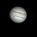 Jupiter + Io - Île-de-France - 15/07/2018,                                Philippe Etourneau