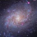 M33 LRGB,                                rhedden